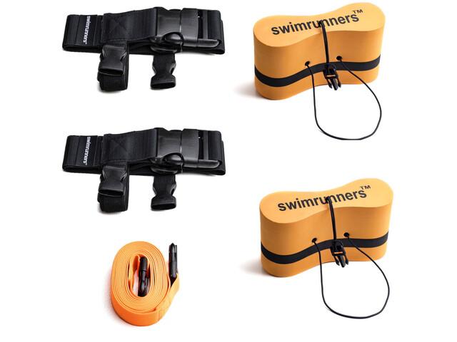 Swimrunners Guidance Set de equipo cinturón pull Mediano, orange